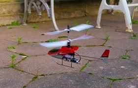 A beltéri helikopter kiváló gépezet