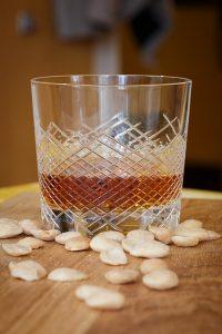 Egyedi kristály whisky pohár
