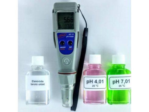 pH mérő kalibrálás
